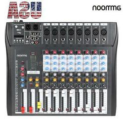 ammoon USB Mixing Mixer Console 8 Channel Professional Live
