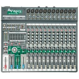 YORKVILLE VGM14 Compact USB FX Universal Power Audio Mixer