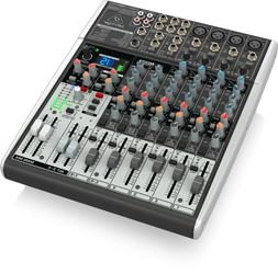 Behringer X1204USB Xenyx 12-Input 2/2-Bus Mixer with USB/Aud