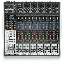 Behringer X2442USB 24-Input 4/2-Bus Mixer With USB/Audio Int