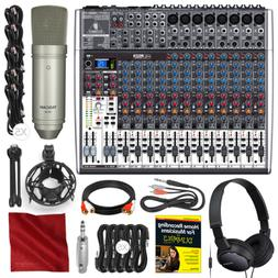 Behringer Xenyx X2222USB 22-Input 2/2-Bus Mixer with USB/Aud