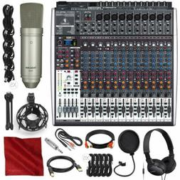Behringer Xenyx X2442USB 24-Input 4/2-Bus Mixer with USB/Aud