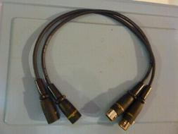 XLR cable High End Audio pure Solid Core Silver Vampire conn